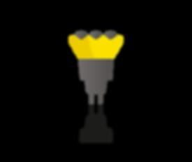 laadpaal/laadvoorziening led indicator