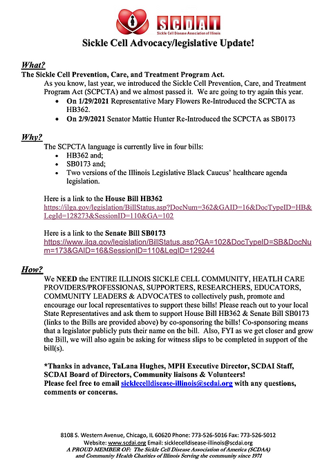 FEB 2021 Illinois Advocacy legislation u