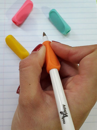 Adaptador de escrita simples para canhotos e destros
