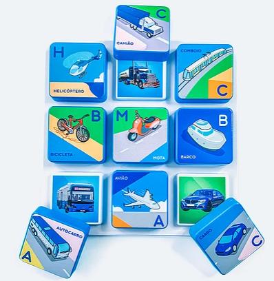 Jogo de Imagens - Transportes