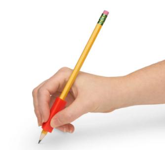 Adaptador triangular para lápis