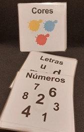 Abecedário, números e cores
