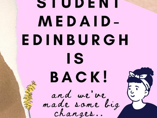 Student MedAID Edinburgh Update