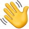 waving hand emoji welcoming the people on the website who are struggling to manage stress and anxiety