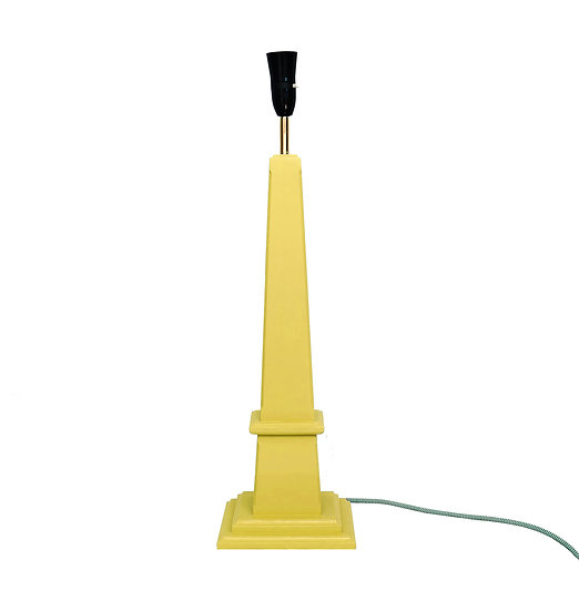 Milling Lane Lamp Yellow