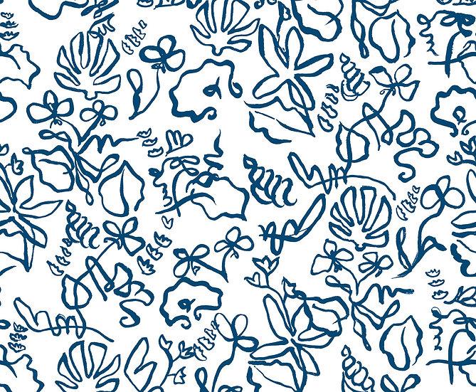 High Tide Textile Sample