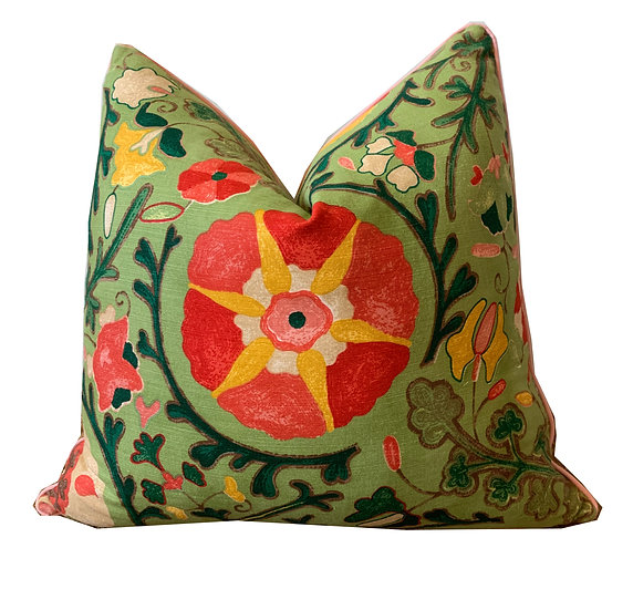 Multi-coloured Suzani Scatter Cushion