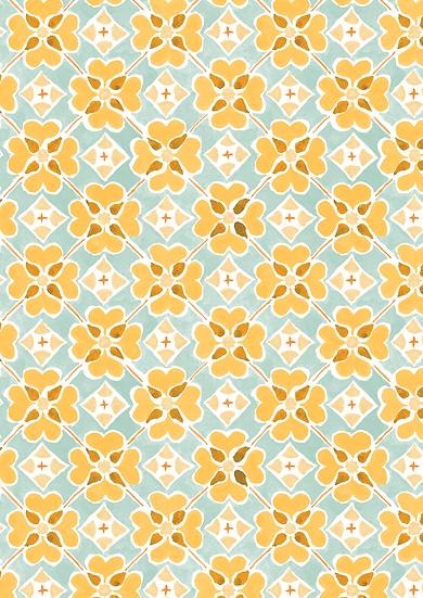 Flora Wallpaper Sample