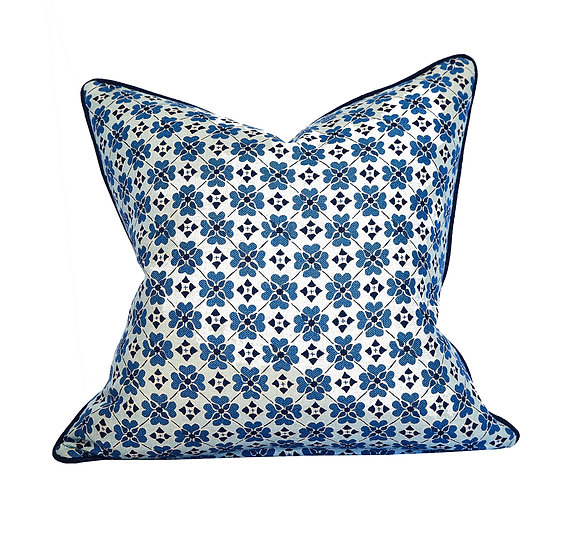 Flora Lapis Scatter Cushion