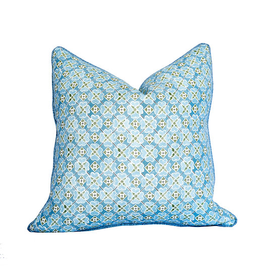 Flora Summer's Day and Chloe Green Scatter Cushion