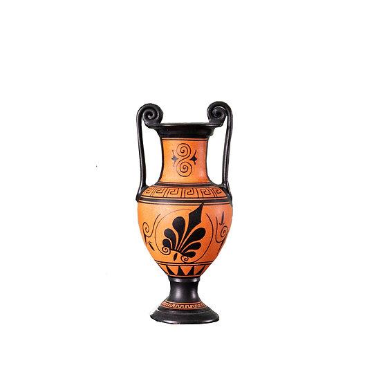 Orange Vintage Grecian Urn