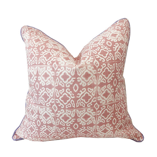 Nihi Shell Lavender Piping Scatter Cushion
