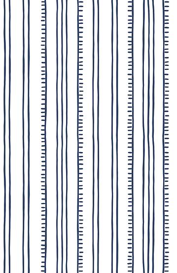 Higgledy Piggledy Stripe Wallpaper