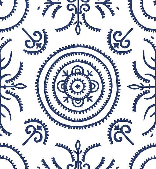 Round & Round The Garden Wallpaper Sample