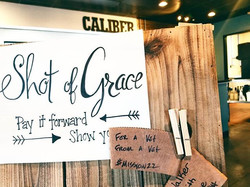 Our Shot of Grace Board
