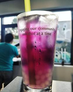 Purple Tea.