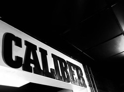 It says Caliber.