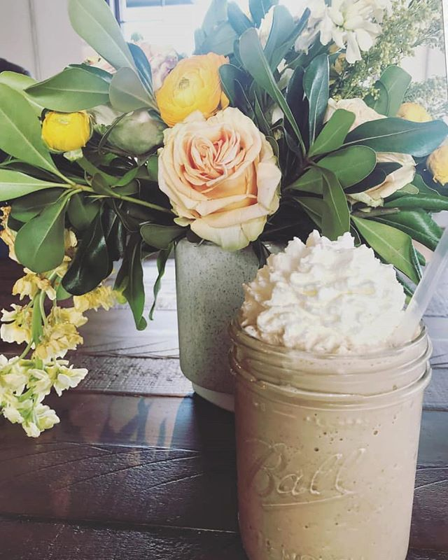 Frappes and Flowers