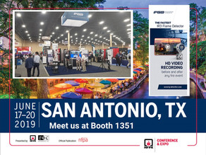 Meet us at the NFPA - San Antonio 2019 Booth 1351
