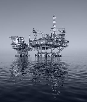 Offshore drilling rig for use with the FlameSpec IR3-HD and UV/IR flame detectors