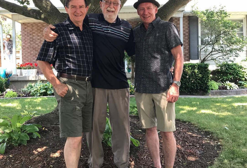 Bill, Dad & Mike