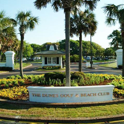 Wedding Reception - The Dunes Beach and Golf Club