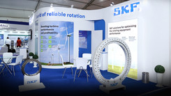 SKF Exhibit Booth