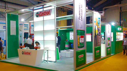 Castrol Exhibit Booth