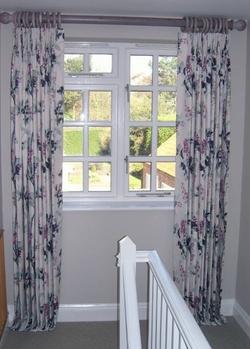 Curtains in Villa Nova Fabric