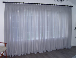Sheer Pencil Pleat Curtains