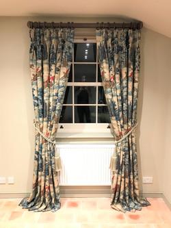Sanderson - Tally Ho Triple Pleat Curtains