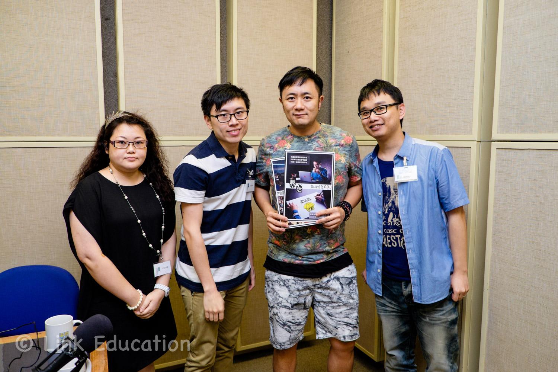 香港商業電台訪問