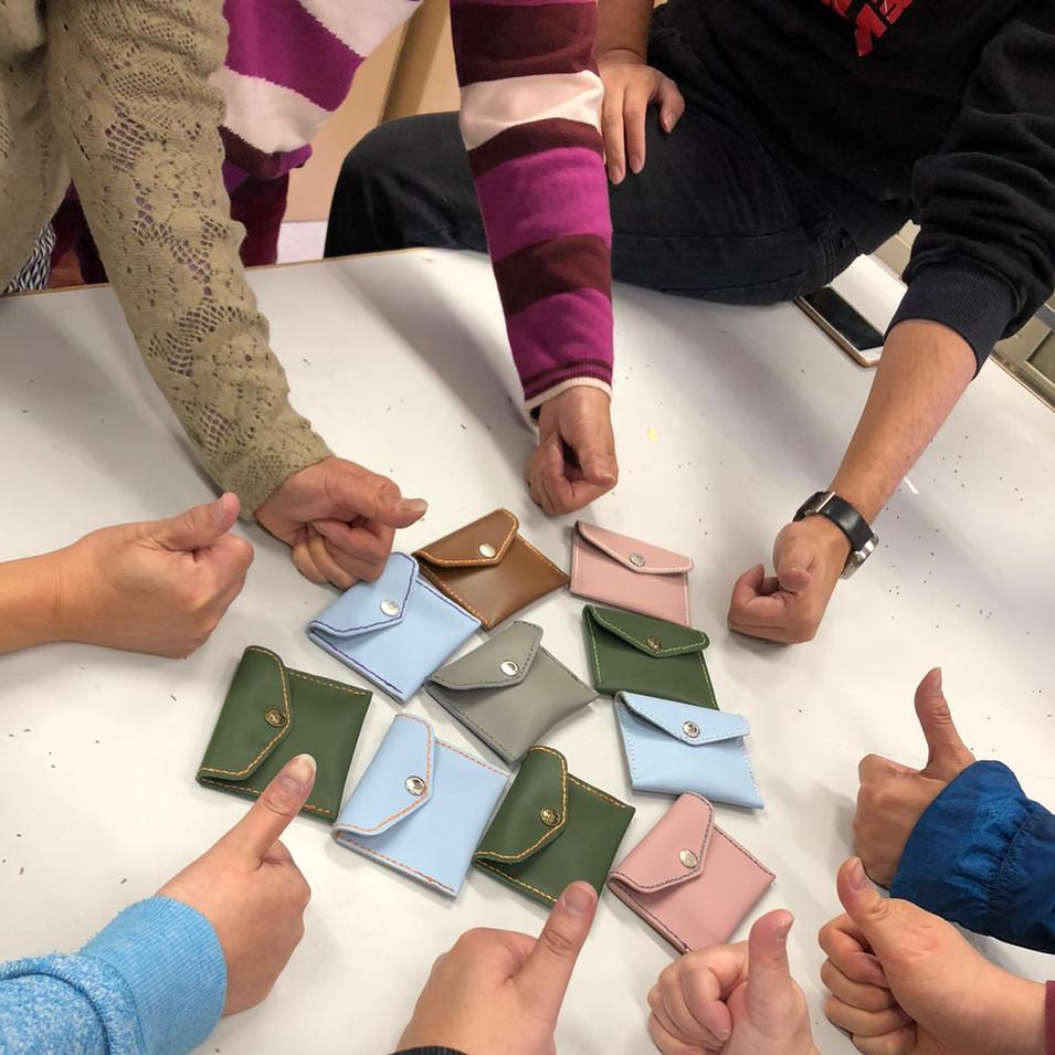 皮革製作體驗及參觀分享 (2)