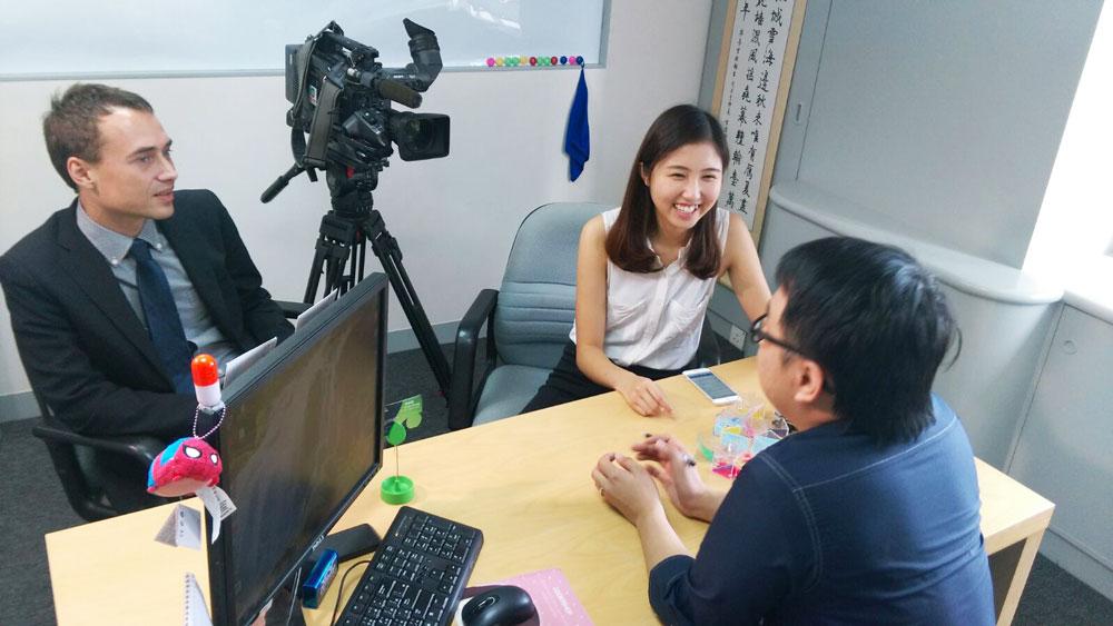 接受明珠台節目《Pearl Report》採訪,分享有關學校支援SEN學