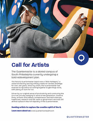 Call for Artists at the Quartermaster