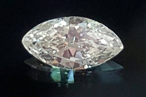 0.32cts Natural Diamond marquees cut K color SI clarity, see video