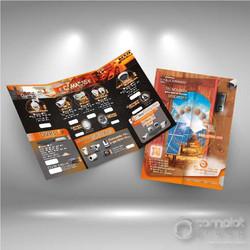 Brochure plegable a 3 cuerpos