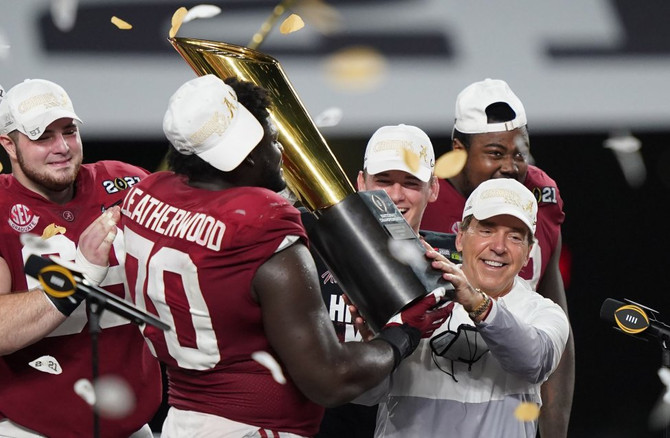 Playoff Musings: 'Bama Restores Normalcy; NFL Notes; Belichick Demurs