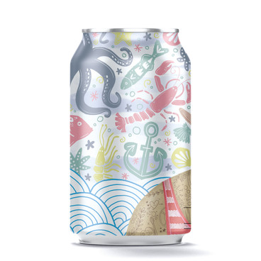 Left side of can