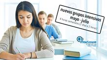 Abiertos nuevos Grupos Intensivos Mayo - Julio 2019