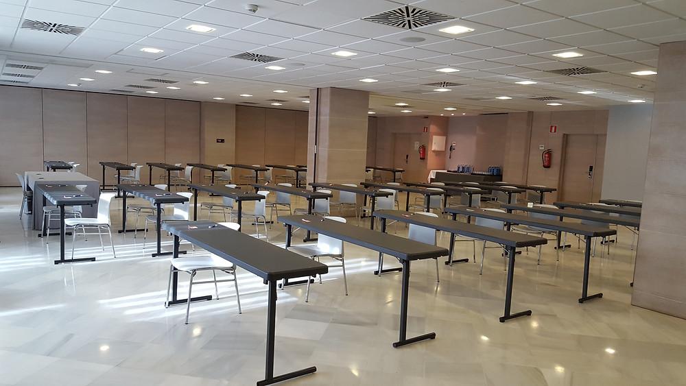 sala de examenes