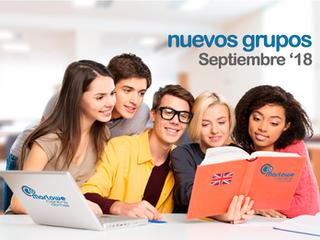 Abierto plazo de matriculación nuevos grupos de inicio en Septiembre 2018