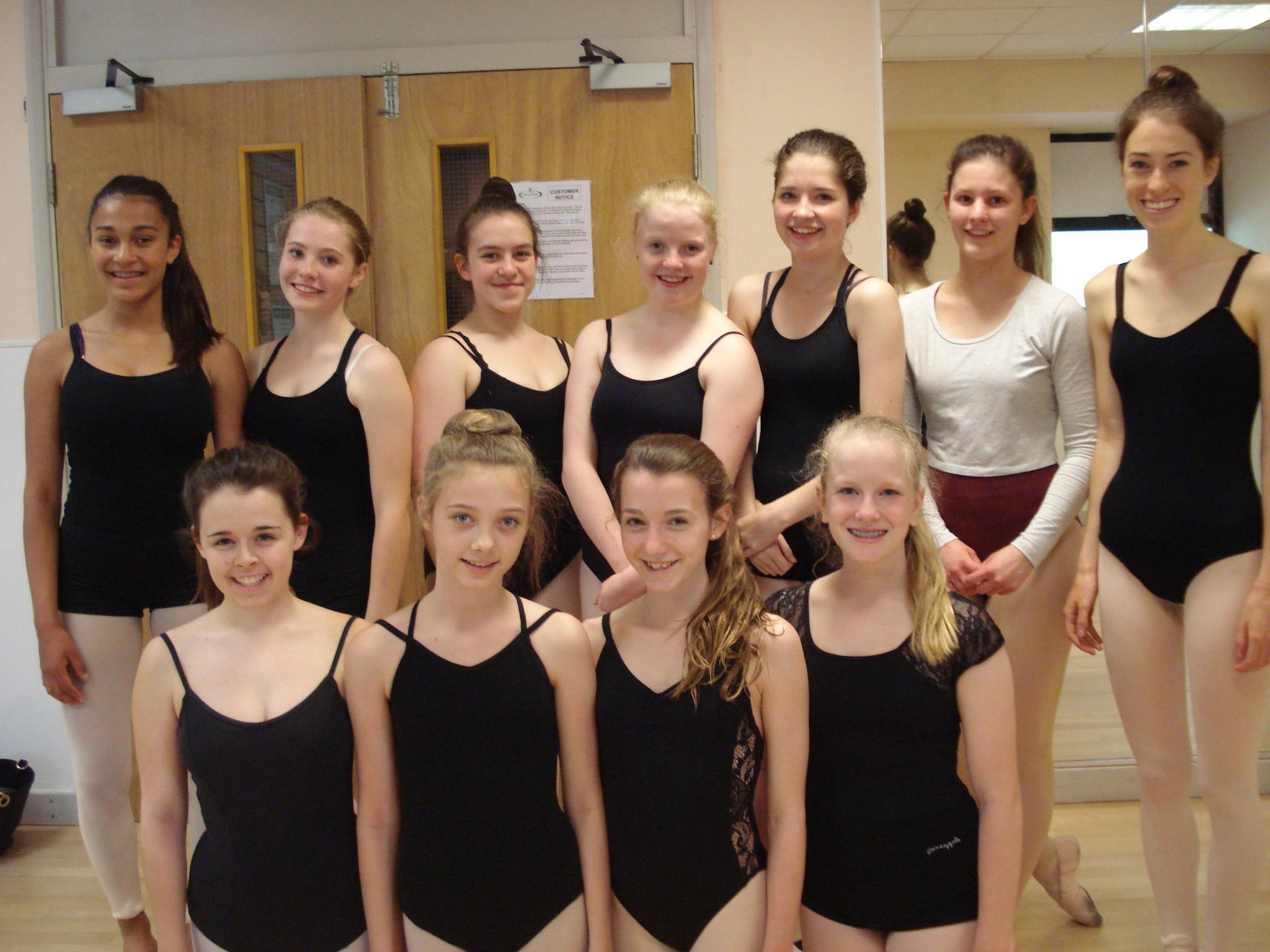 Grade 5 & 6 Ballet and Modern