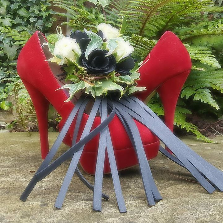Rubber Wedding Whip Bouquet