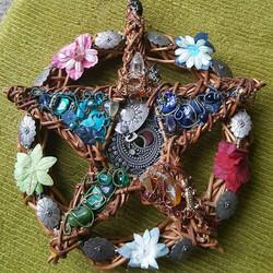 Wire Crystal Pentagram