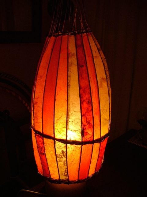 Willow Paper Lampshade