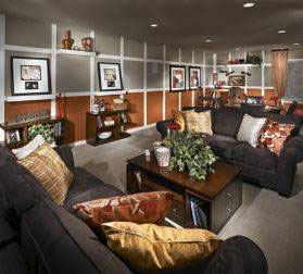 Meritage Homes Basement