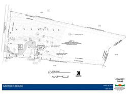 Gauthier House Site Plan