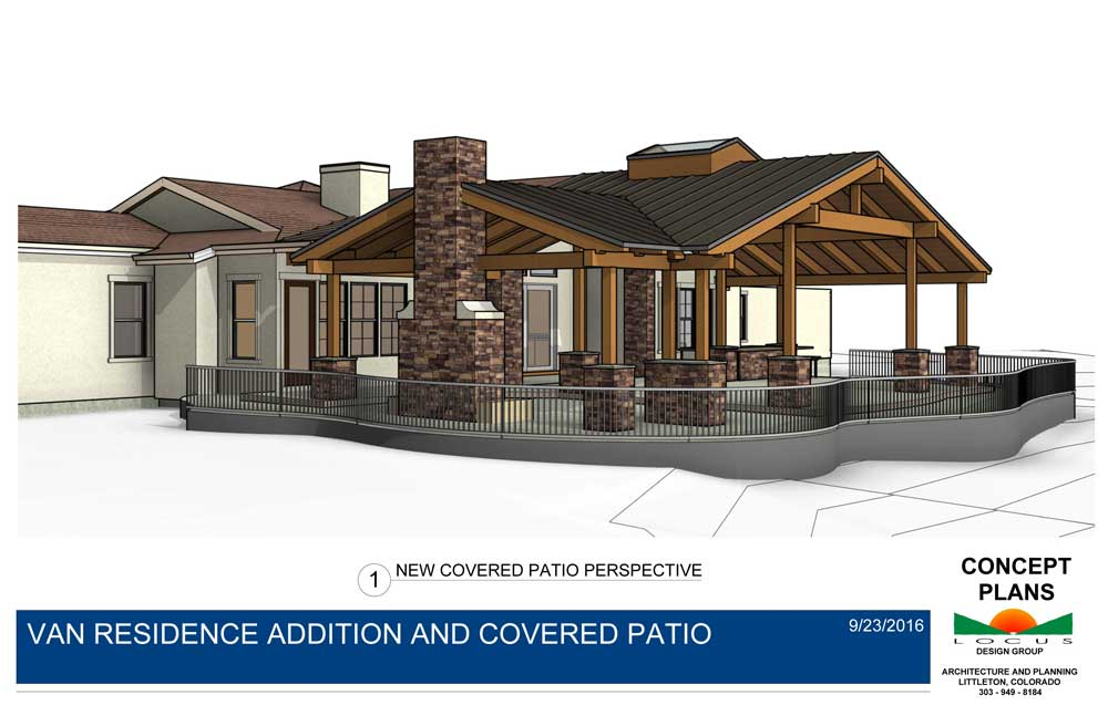 Addition & Covered Patio