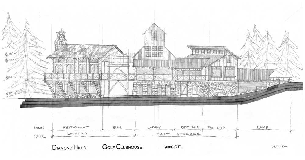 Diamond Hill Golf Clubhouse